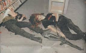 columbine high school massacre crime scene photos