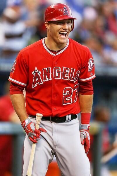Mike Trout; just because we are at the same age and he's a baseball player