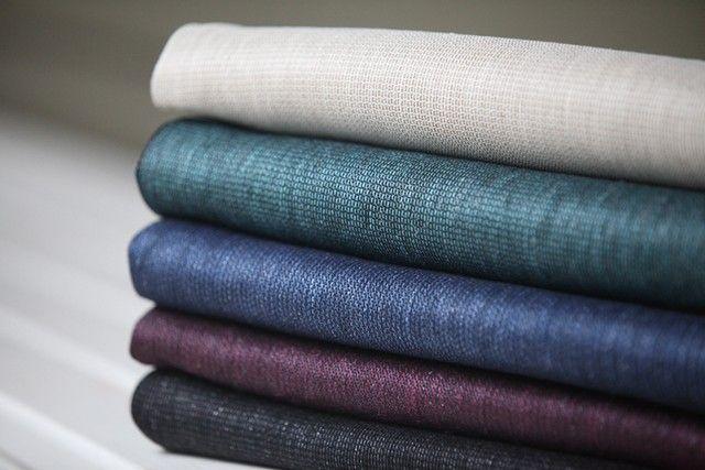 Linen napkins, pellavaisia lautasliinoja by Pisa Design.