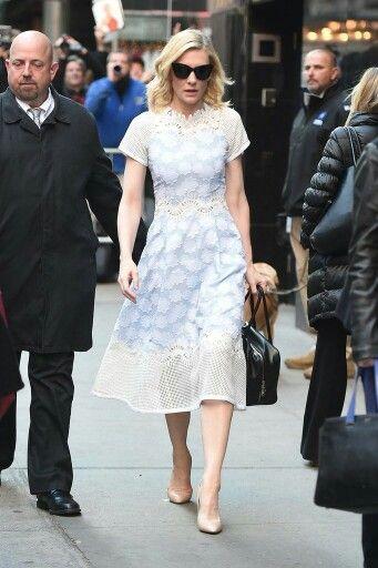 Cate Blanchett in Jonathan Simkhai Pinterest: KarinaCamerino