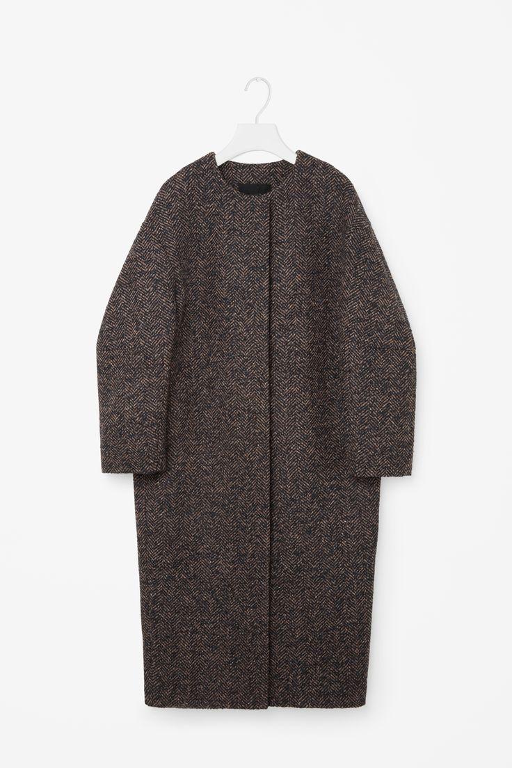 COS | Oversized Tweed coat