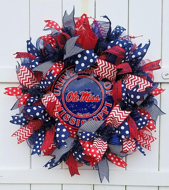 Ole Miss Wreath University of Mississippi Wreath Ole Miss