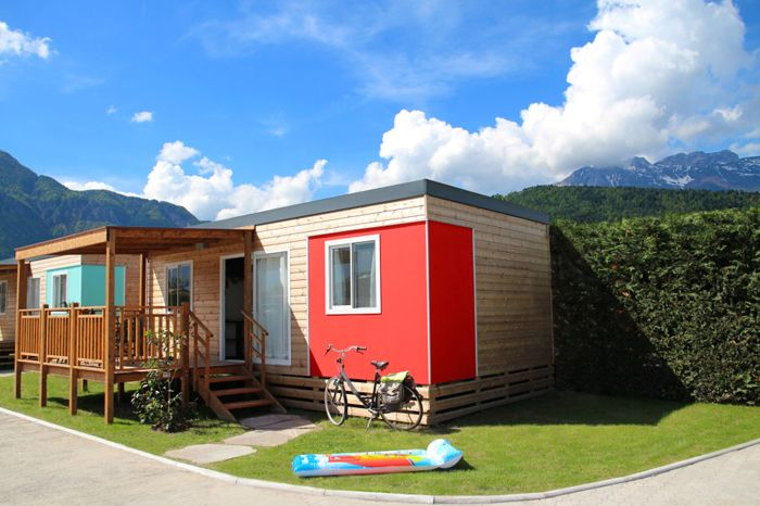 Mobil Home Deluxe - news 2015! - Camping Cerquestra
