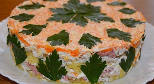 Интересный салат «Своя изюминка»: озадачьте гостей… — Вкусно!