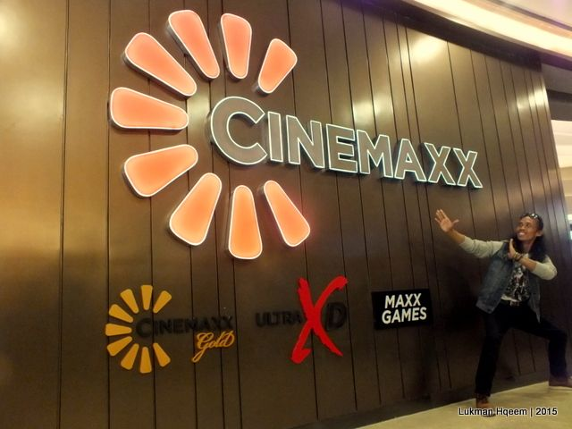 Yayan Ruhiyan menghadiri pembukaan Cinemaxx Maxx Box Lippo Village, Karawaci Rabu (01/07)