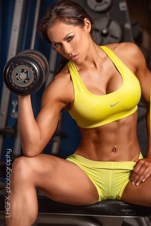 Women motivated fitness.