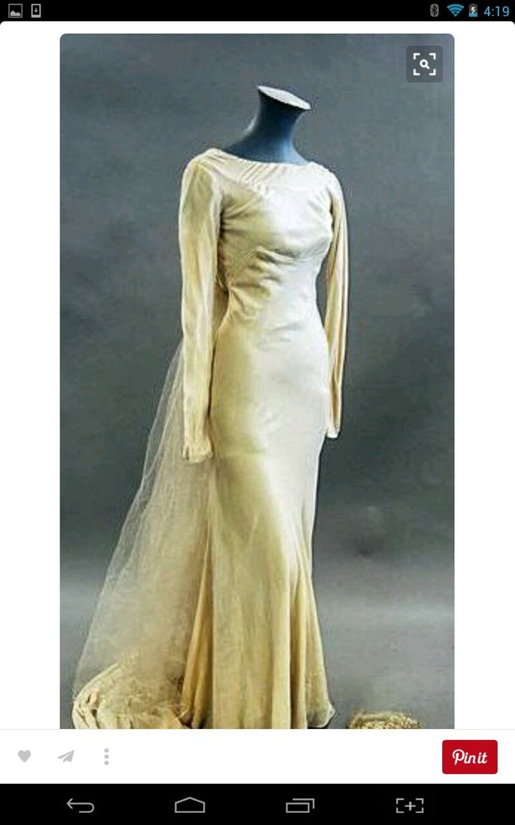 Retro wedding dress   best then and now vintage wedding images on Pinterest
