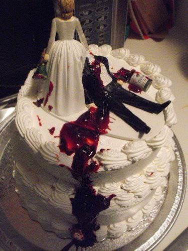 Divorce Party cake (Love it) If only this wouldnt get you 10-20yrs lol
