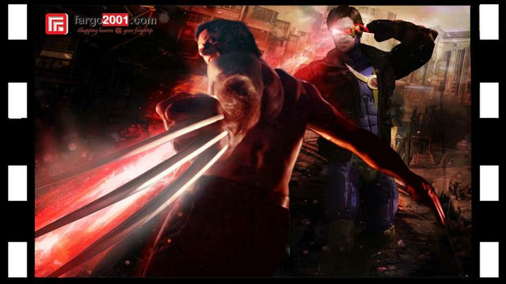 X-Men: Days of Future Past ! Classic X-Men Character: Wolverine & Cyclops ! http://fargo2001.com/action-figures-96