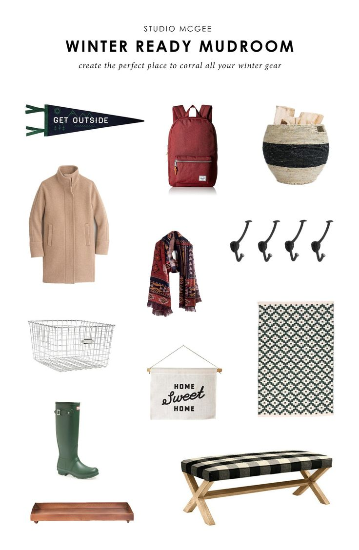 Get winter ready with our favorite mudroom pieces!