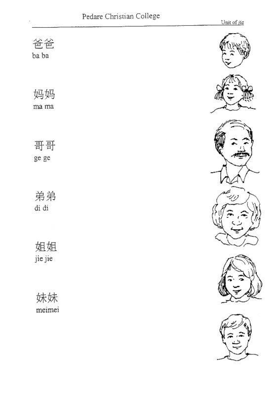 18 best images about chinese worksheet on pinterest. Black Bedroom Furniture Sets. Home Design Ideas