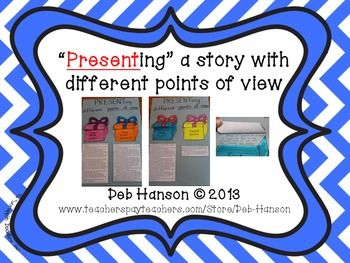 Writing a story from different points of view