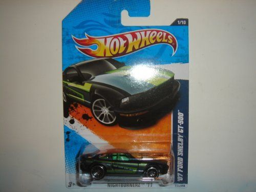 2011 Hot Wheels '07 Ford Shelby GT-500 Black #111/244 by Mattel. $0.01