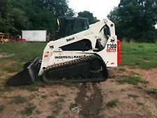BOBCAT T300 COMPACT TRACK SKID SREER LOADER 2 SPEED DIESEL FULL CAB AC RADI0  skid steer loaders - construction equipment - equipment financing - heavy machinery