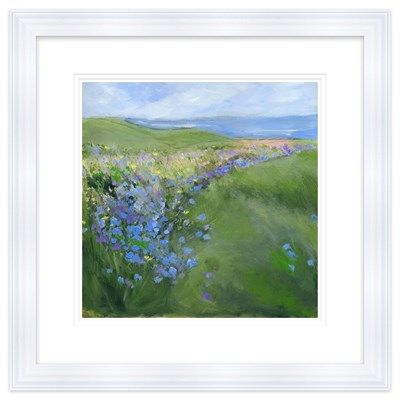 Lavender Field Framed at Whistlefish Galleries - handpicked contemporary & traditional art that is high quality & affordable. Available online & in store