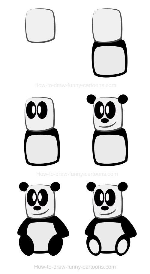Drawing a panda! :)