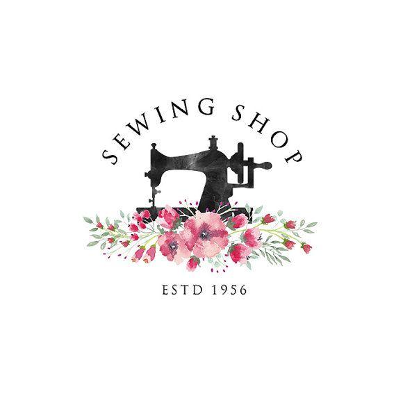 Premade logo design  Tailoring logo  Tailor Logo by PrintablePixel