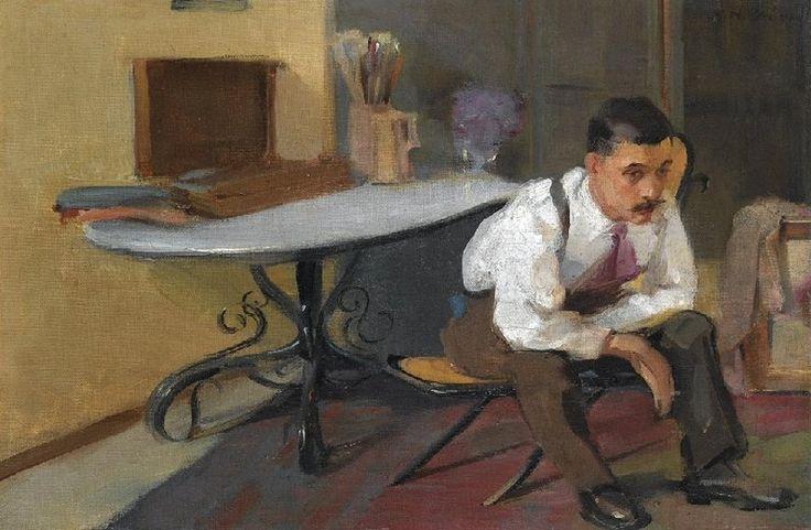 """Το Σύμπαν της Τέχνης: Νικόλαος (Νίκος) Λύτρας, ένας επαναστάτης ζωγράφος που """"έχτιζε"""" με χρώμα και φως!"""
