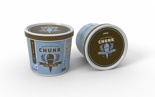 Schwans Ice Cream Package by capsule design. #z3