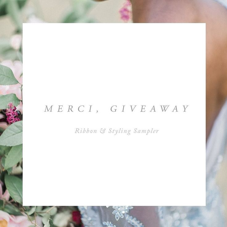 Happy 'Post-Thanks' Day! (Black Friday sounds too sad so I'm gonna boycott that title)Today we are giving away anew deluxe sampler including 18 silk ribbon hues (yes including all of our new winter colors!) - all you need for floral and stationary styling. To enter like this post tag a friend and tell us something wonderful/encouraging that happened to you this year! Winner will be announced on Monday. Have a beautiful weekend! . . . . . Background image by @lynndunston #silkribbon #bouquet…