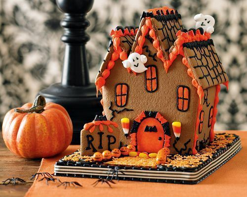 54 Best Halloween Gingerbread House Ideas Images On Pinterest