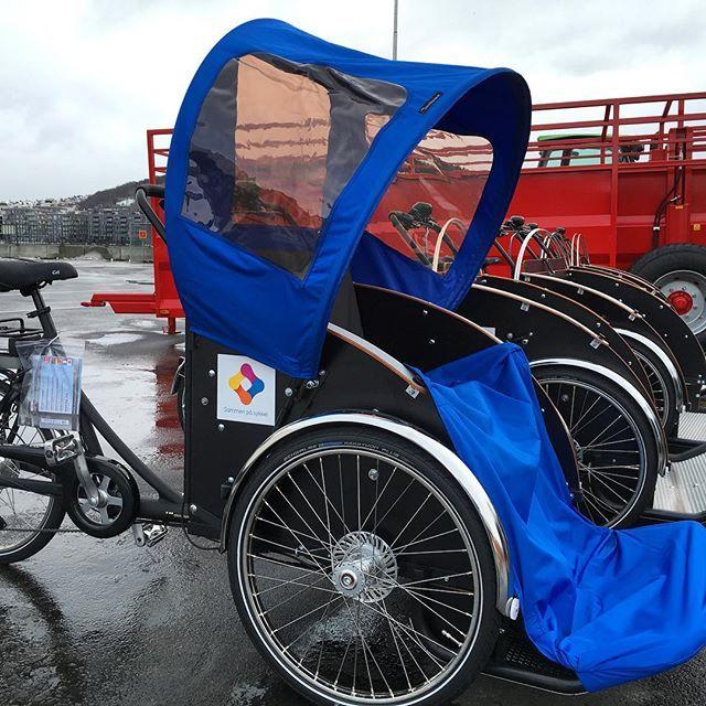 Nye sykler på kaia! ☀️🚲 #sammenpåsykkel
