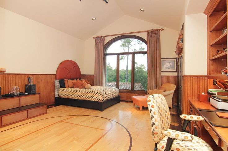 Basketball Bedrooms Basketball Themed Room Great Big Window To Enjoy The View