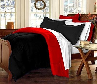 Red/Black Bedding Set