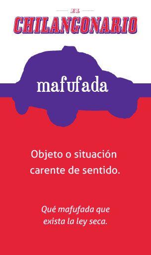 «mafufada» El Chilangonario