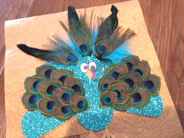 Turkey in disguise! Farmer Brown will never know this peacock is really a turkey. #TurkeyTrouble 😂🚫🦃