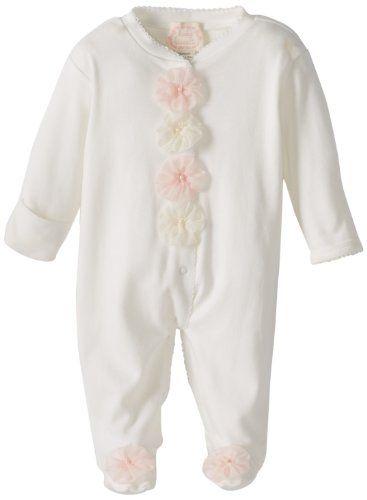 70 best baby shower images on pinterest gray chevron grey biscotti baby girls newborn pom pom petals longsleeve footie buy new 3752 gumiabroncs Images
