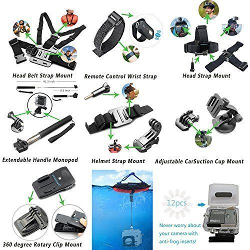 Camcorder Waterproof Camera Accessories Sports Action Wrist Strap Bike Handlebar #CameraAccessories