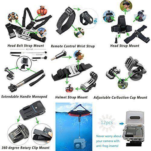 Camcorder Waterproof Camera Accessories Sports Action Wrist Strap Bike Handlebar #CameraAccessories