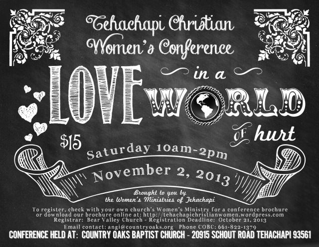 Women's Conference Flyer Design Inspiration