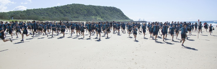 2013 Hike for Hope, raising hope and funds on the beach.