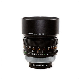 Canon FD55mm f1.2 by hicamera