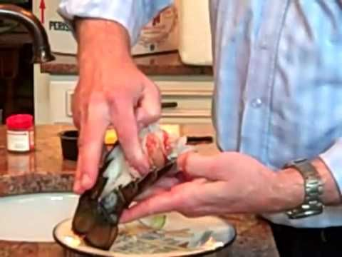 "Dan ""The Lobster Man"" of Lobster Gram Shows You How to Serve Lobster Tails like Restaurant Pros!"