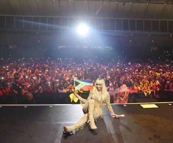 The Weekend Argus sat down with Nicki Minaj while on her Pinkprint Tour in South Africa. Listen to the interview below:
