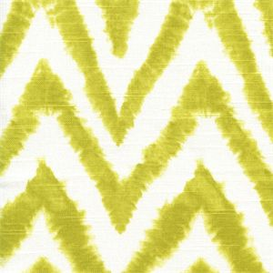 "Premier Prints Diva Artist Green Chevron Stripe Ikat PrintContents: 100% CottonV.Repeat: 12.5""H.Repeat Width: 54"" to 56"" This item usually ships in about one week from order date."