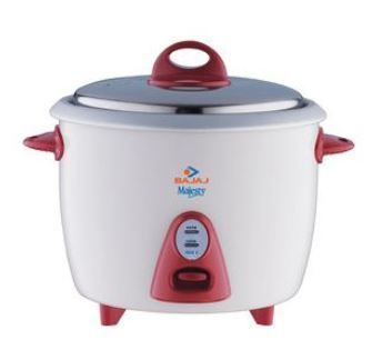 Bajaj Majesty RCX-3 1.5 L Electric Cooker at just Rs. 1249  Cooking Food becomes much easier now ...!!