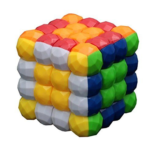 Aikoi 4x4x4 Colorful Ball Rubik Cube Puzzle Toy