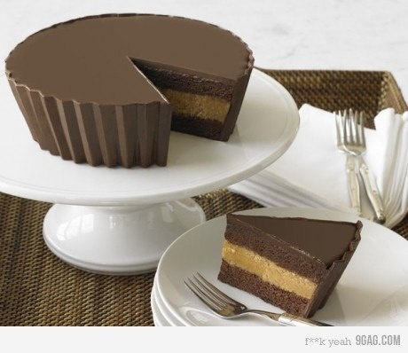 WANT Reeces Cake (but with white chocolate) !!