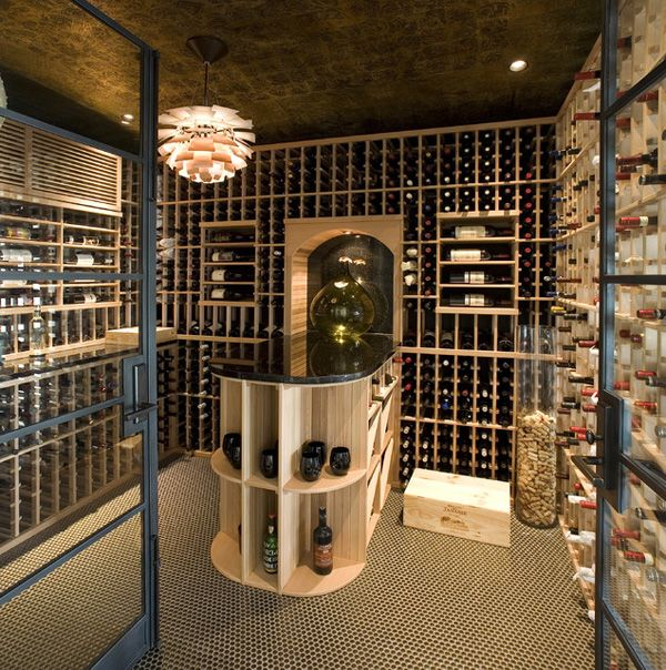 M s de 25 ideas incre bles sobre almacenamiento de vino en - Botelleros de obra ...