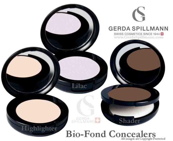 Biofond Highlighter, Lilac Concealer and Bronzer from Gerda Spillmann