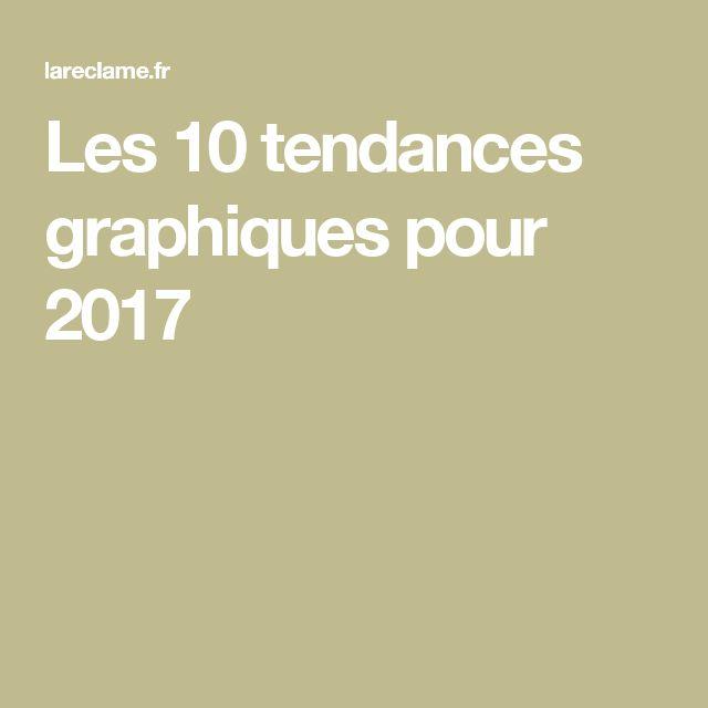 Les 10 tendances graphiques pour 2017