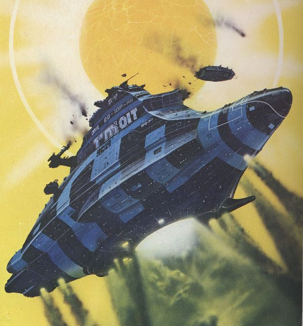 70s Sci Fi Art Chris Foss: 70 Best Images About Spacecraft On Pinterest