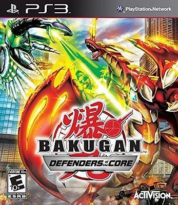 New Factory Sealed Bakugan Defenders Of The Core Ps3 Game