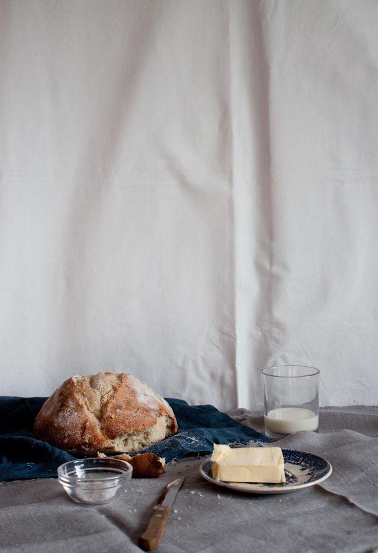 Little upside-down cake: Simple Spelt Bread #baking #bread