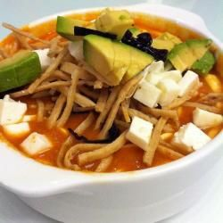 Sopa de tortilla exquisita @ allrecipes.com.mx