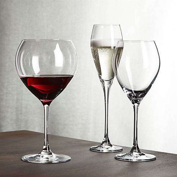 silhouette wine glasses the o 39 jays tulip and crate and. Black Bedroom Furniture Sets. Home Design Ideas